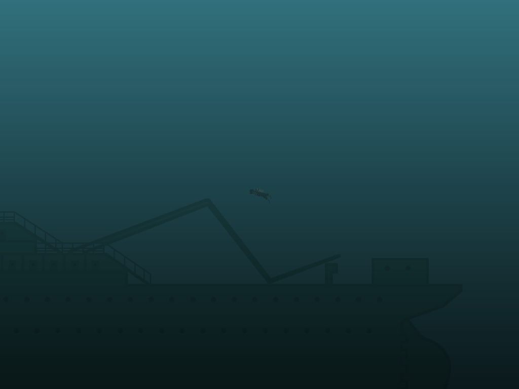 A game about a crazy diver