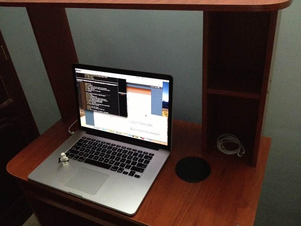 Ludum Dare 26 workspace